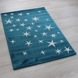 All Stars Blue kids Play Rug