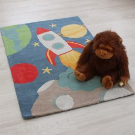 Candy Rocket Kids Rug