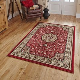 Diamond Rug Red 44