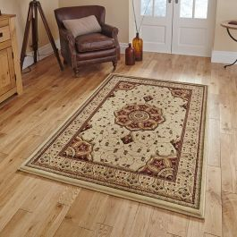 Heritage Rug 44 Cream Red