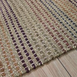 Jute Seagrass Rug Terracotta Colour