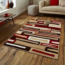 Matrix FR Beige Red Rug