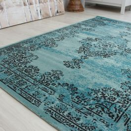 Medallion Faded Rug RE01