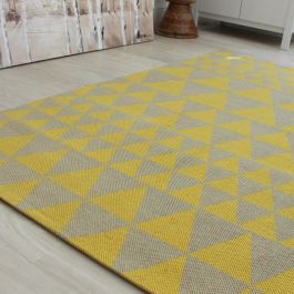 Onix Rug Triangles Yellow