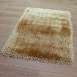 Pearl Shaggy Rug Mustard Colour