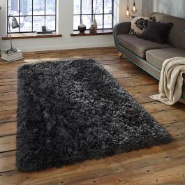 Polar Rugs Misty Charcoal