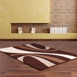 Rap R Brown Beige Rug