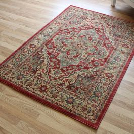Red Traditional Rug Ziegler 8788