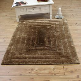 Ridge Rug Silky Soft Natural Colour