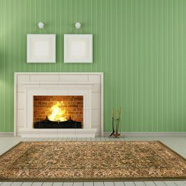 Traditional 01 Green Rug