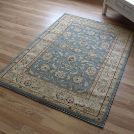 Traditional Style Rug Ziegler Blue 7709