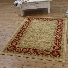 Windsor Rug 01 Cream Rust