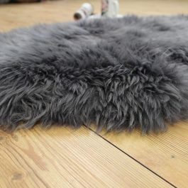 Woolmark Sheepskin Rug Grey