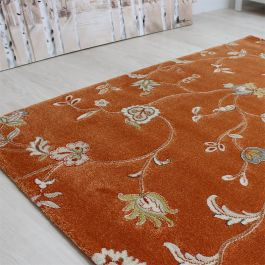 Xico Rug Floral Rust