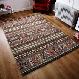 Zante 5501D Rug Tribal Stripe Terracotta