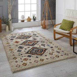 Atlas 181 J Cream Multi Tribal Rug