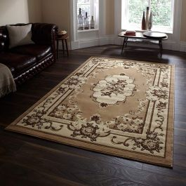 Marrakesh Beige Traditional Rug