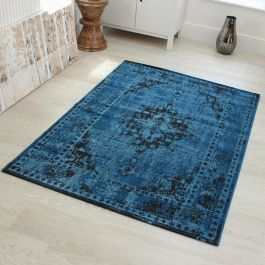 Medallion Faded Rug RE04