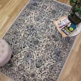 Canyon Rug Blue Grey Bone 52002 5252