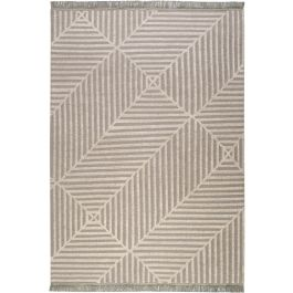 Carpets & Co Irregular Fields Grey-Beige Rug