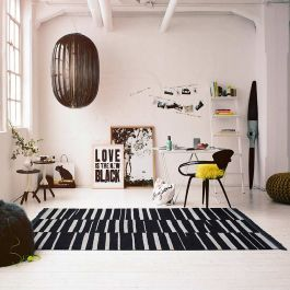 Carpets & Co Marks Black Rug