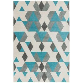 Colt Rug CL17 Pyramid Blue