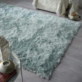 Duck Egg Glitzy Rug
