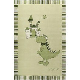 Esprit Dragon & castle Green Rug