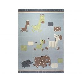 Esprit Lucky Zoo Blue Rug