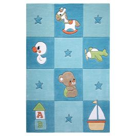 SMART KIDS Newborn Blue Rug
