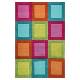 SMART KIDS Smart Button Multicolour Rug