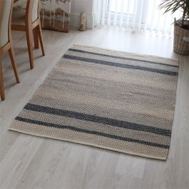 Fields Rug Ebony Colour