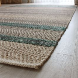 Fields Rug Emerald Colour