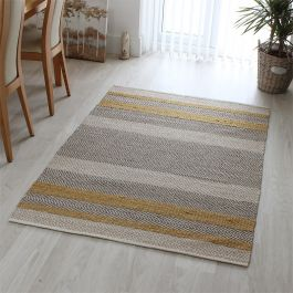 Fields Rug Mustard Colour
