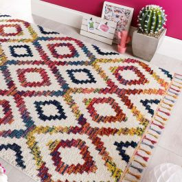 Capella Multi Coloured Diamond Rug