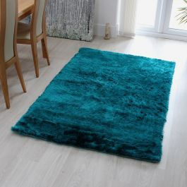 Whisper Dark Teal Jade Rug