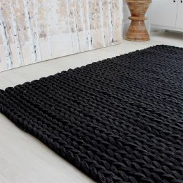 Helix Rugs Charcoal Colour