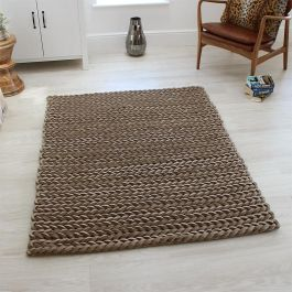 Helix Rug Taupe Colour