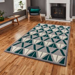Hong Kong Rug 1374 Grey Green