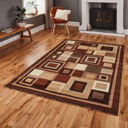 Hudson Rug 3222 Brown Beige