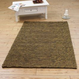 Jute Loop Rug Brown