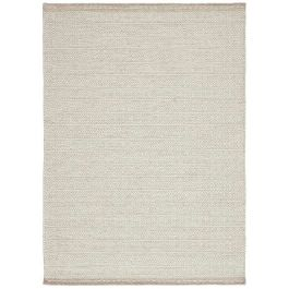 Knox Reversible Rug Sand Wool Dhurry