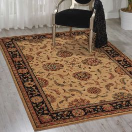 Living Treasures Rug Beige Black LI104