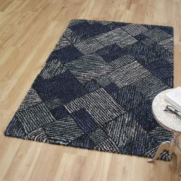 Mehari Rug 230128/3141 Blue Black