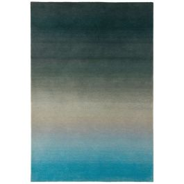 Ombre Rug OM03 Blue Wool