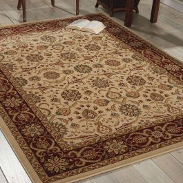 Persian Crown Traditional Rug PC001 Cream
