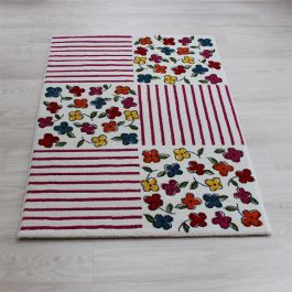 Patchwork Flowers Play Rug