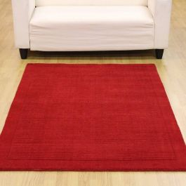 Bright Red SM Large wool Rugs