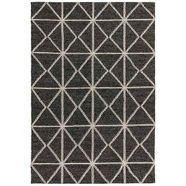 Prism Rug in Charcoal Silver