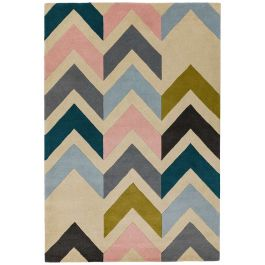 Reef Rug RF12 Chevron Multi Wool